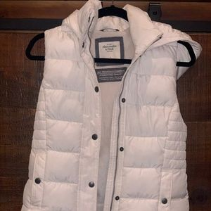 White Puffy Vest